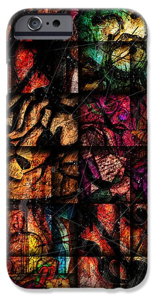 Mosaic iPhone Cases - Mosaic iPhone Case by Gary Bodnar