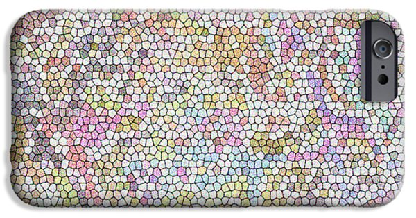 Gina Manley iPhone Cases - Mosaic iPhone Case by Gina Lee Manley