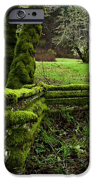 mossy fence 2 iPhone Case by Bob Christopher