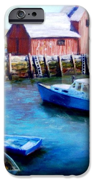 Motif One Rockport Harbor iPhone Case by Jack Skinner