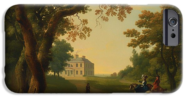 Autumn iPhone Cases - Mount Kennedy - County Wicklow Ireland iPhone Case by William Ashford
