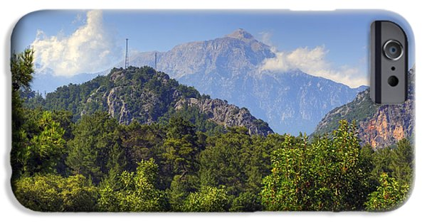 Olympus iPhone Cases - Mount Olympos - Turkey iPhone Case by Joana Kruse