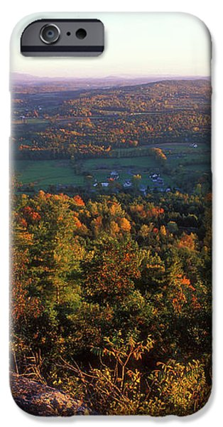 Mount Philo Foliage View iPhone Case by John Burk