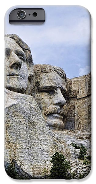 Mount Rushmore National Monument iPhone Case by Jon Berghoff