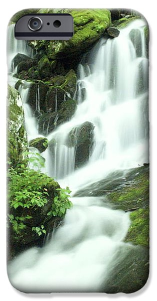 Mountain Falls iPhone Case by Marty Koch