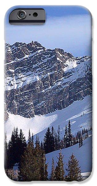 Mountain High - Salt Lake UT iPhone Case by Christine Till