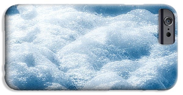 Simplistic iPhone Cases - Mountains of Foam iPhone Case by Wim Lanclus