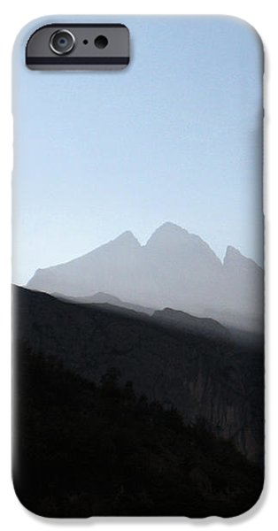 Mountains iPhone Case by Oliver Johnston