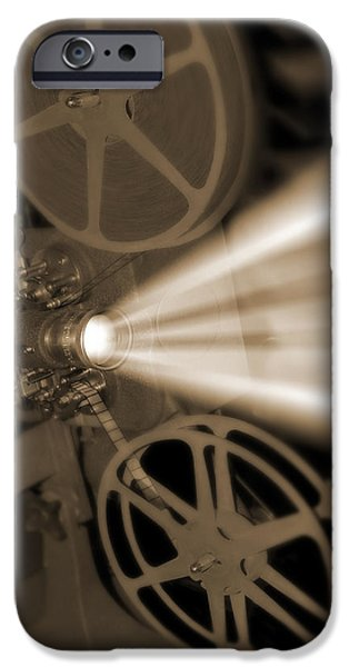 Movie Projector  iPhone Case by Mike McGlothlen