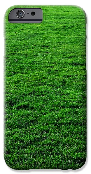Sod iPhone Cases - Mow the Lawn iPhone Case by Cynthia Decker
