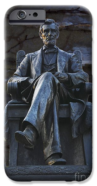 Recently Sold -  - President iPhone Cases - Mr. Lincoln iPhone Case by David Arment