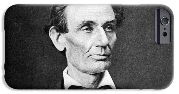 States Photographs iPhone Cases - Mr. Lincoln iPhone Case by War Is Hell Store