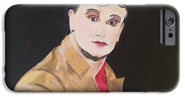 Bono Paintings iPhone Cases - Mr. MacPhisto iPhone Case by David Burnett