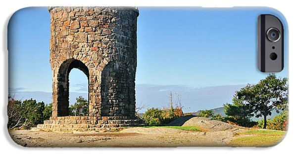 Ww1 iPhone Cases - Mt Battie Tower iPhone Case by Betty LaRue