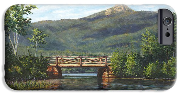 Mt Chocorua iPhone Cases - Mt. Chocorua iPhone Case by Elaine Farmer