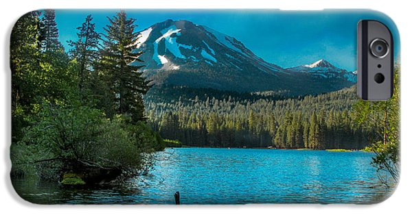Bill Gallagher iPhone Cases - Mt Lassen iPhone Case by Bill Gallagher