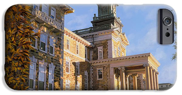 New Jersey iPhone Cases - Mt St.Mary Academy iPhone Case by Guido Borelli