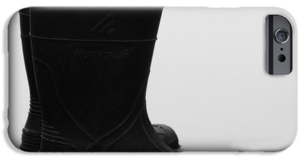 Rainy Day iPhone Cases - Mud Muckers iPhone Case by J L Zarek