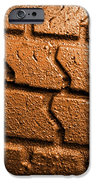 Muddy Tire iPhone Case by Carlos Caetano
