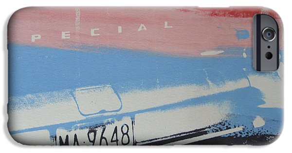 Screen Print iPhone Cases - Multicolor fender iPhone Case by David Studwell