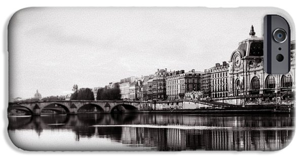 Painter Print Photographs iPhone Cases - Museum of Orsay  iPhone Case by Vicky Ceelen