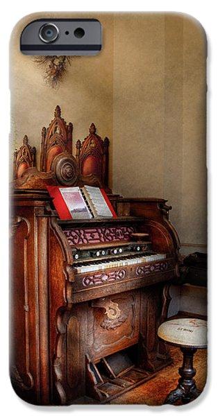 Music - Organ - Hear the Joy  iPhone Case by Mike Savad
