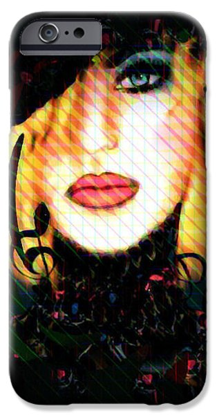 Model iPhone Cases - Music in My Soul iPhone Case by Natalie Holland