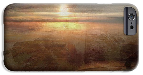 Miracle iPhone Cases - Music is as natural as the Sunset iPhone Case by Vincent Messelier