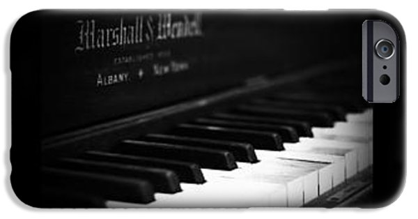 Piano iPhone Cases - Music to my Eyes iPhone Case by Timothy Eberly