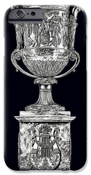 European Sculptures iPhone Cases - Musical Urn _ V3 iPhone Case by Bruce Algra
