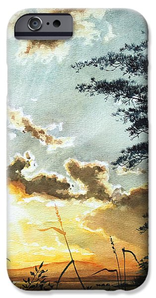 Muskoka Dawn iPhone Case by Hanne Lore Koehler