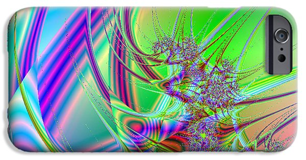 Fractal iPhone Cases - Mutate iPhone Case by Anthony Caruso