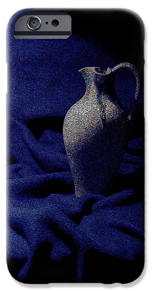 Pottery iPhone Cases - My Bella iPhone Case by Julian Bralley