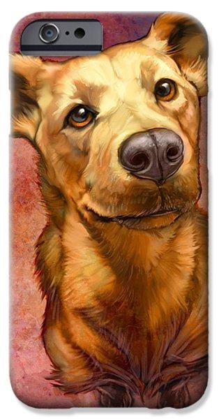My Buddy iPhone Case by Sean ODaniels