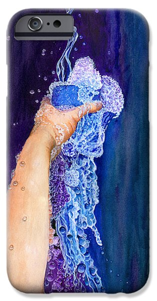 23 iPhone Cases - My Cup Runneth Over iPhone Case by Nancy Cupp