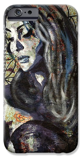 Thinking iPhone Cases - My Identity iPhone Case by Niaz Hekmat