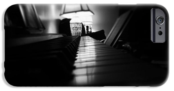 Piano iPhone Cases - My Piano  iPhone Case by William Allen