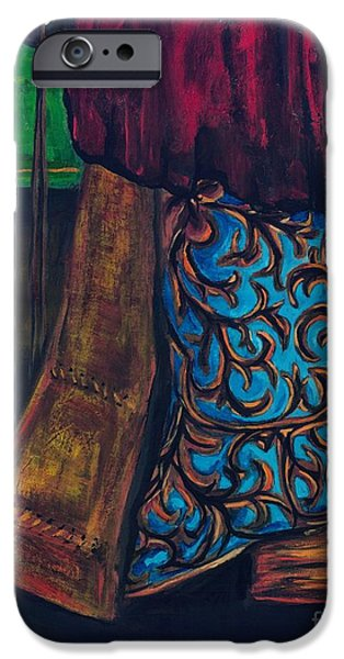 My Ride Home After The Dance iPhone Case by Frances Marino