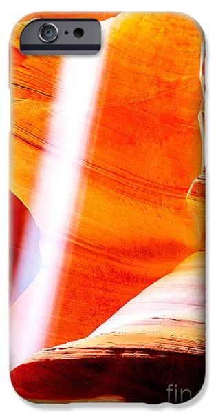 Rock Formation iPhone Cases - My Solitaire iPhone Case by Az Jackson