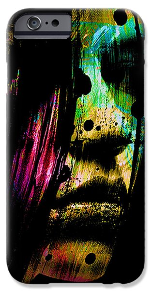 Altered iPhone Cases - Mysterious Girl iPhone Case by Marian Voicu