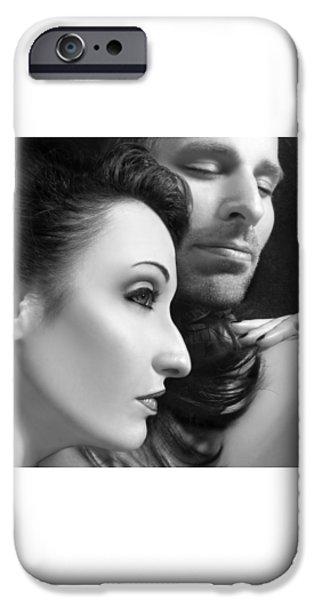 Mysterious Love  iPhone Case by Jaeda DeWalt