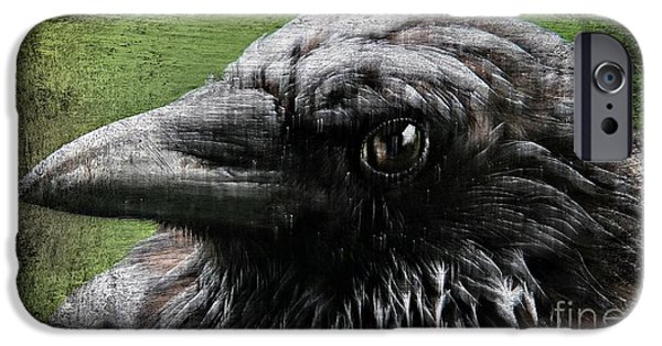 Crows iPhone Cases - Mystery iPhone Case by Doria Fochi