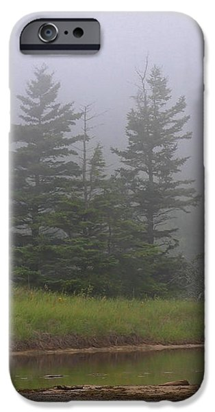 Mystical Acadia National Park iPhone Case by Juergen Roth