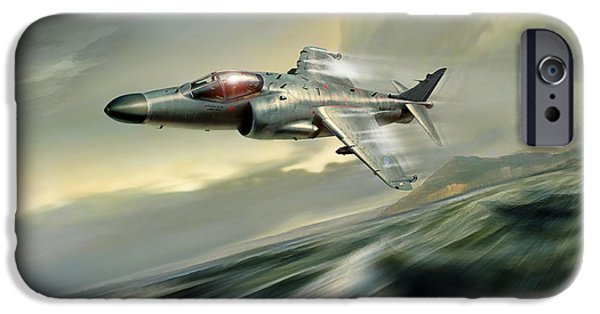 Iraq iPhone Cases - Nalls Aviation iPhone Case by Peter Van Stigt