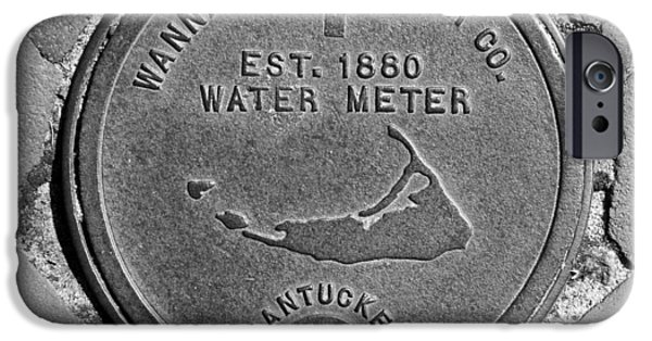 Nantucket iPhone Cases - Nantucket Water Meter Cover iPhone Case by Charles Harden