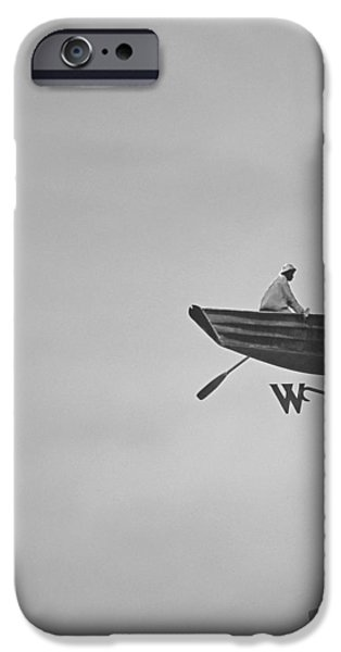 Nantucket Weather Vane iPhone Case by Charles Harden