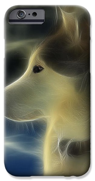 Nanuk Husky Fractal iPhone Case by Marjorie Imbeau