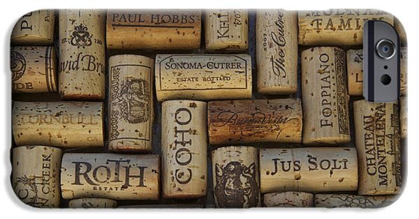 Vintage Wine Lovers Photographs iPhone Cases - Napa Pinot Noir iPhone Case by Anthony Jones