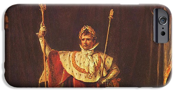 Emperor iPhone Cases - Napoleon iPhone Case by War Is Hell Store