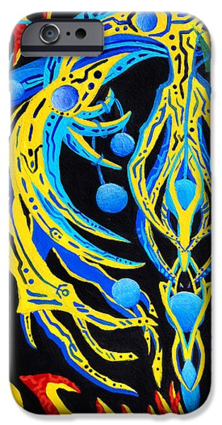 Mechanism Paintings iPhone Cases - Narcissus iPhone Case by Maxwell Hanson